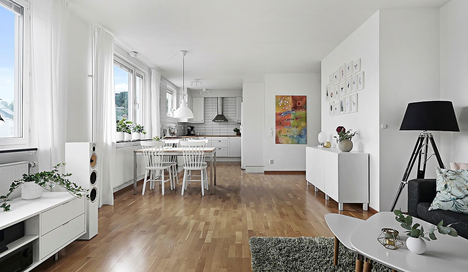 Grönbrinksgatan 8, 6 tr - Öppen planlösning mellan vardagsrum och kök