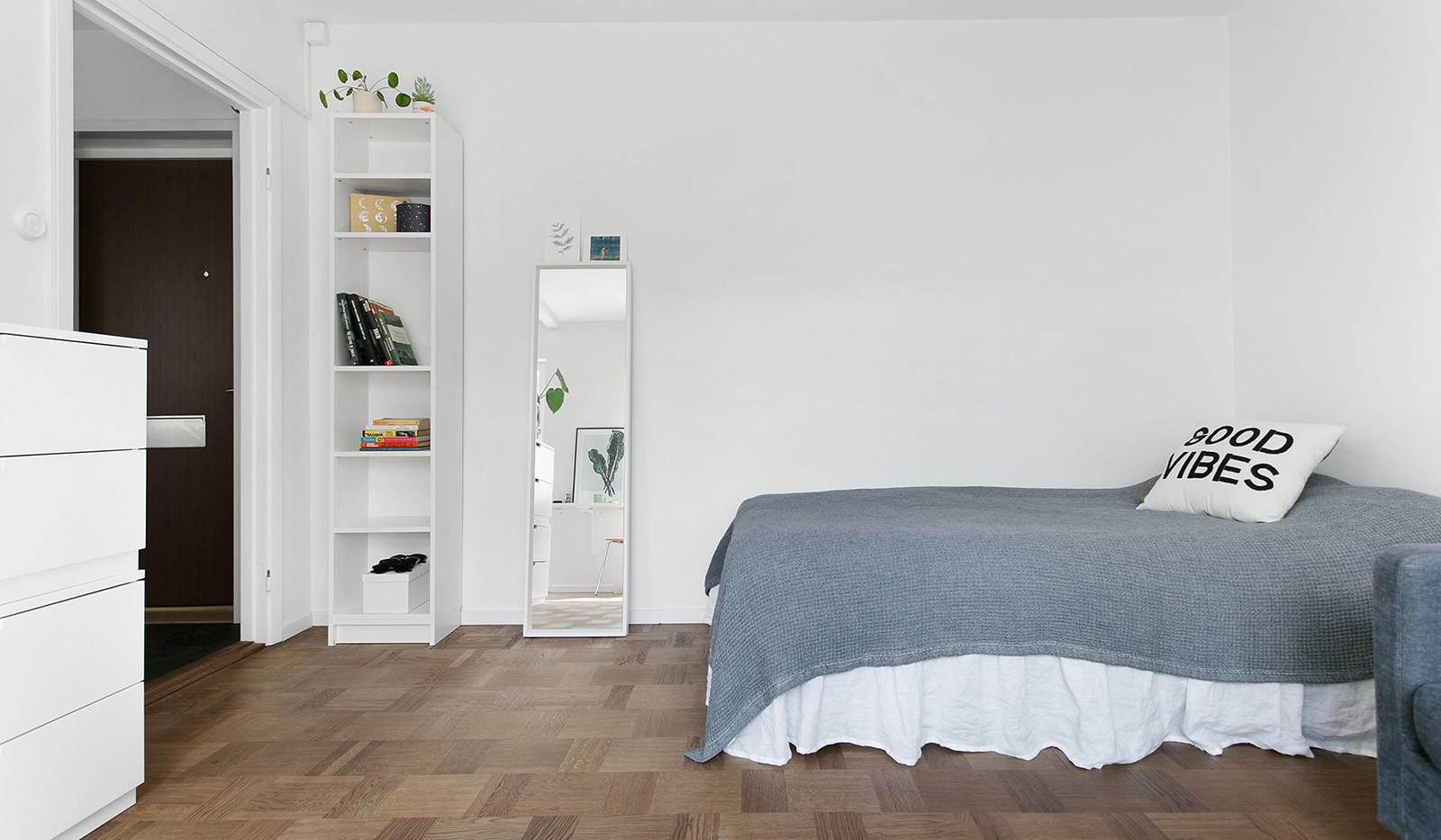 Kolbäcksgränd 28, 2 tr - Rummet erbjuder flera olika sätt att möblera