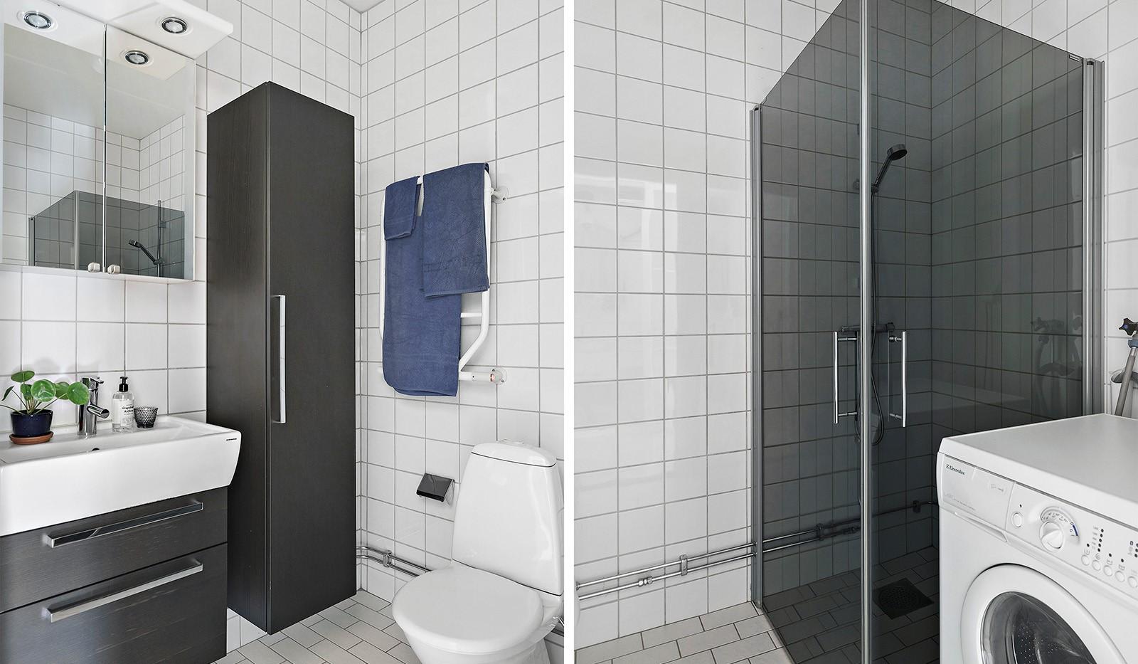 Midskeppsgatan 19, vån 4 - Stilrent och fullt utrustat badrum