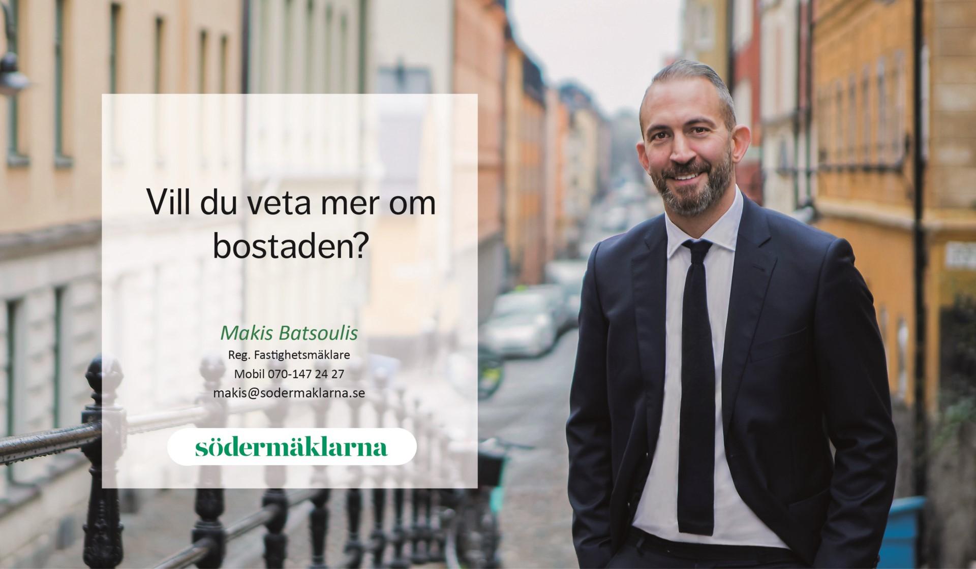 Hallandsgatan 50B - Mäklarfoto Makis