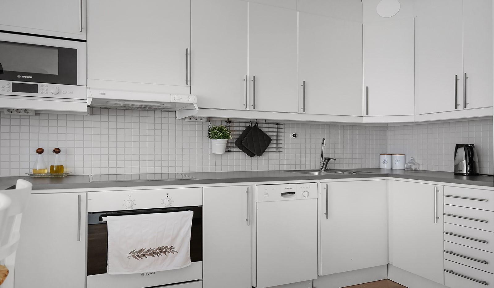 Hägerstensvägen 99B - Kök som inspirerar till matlagning.