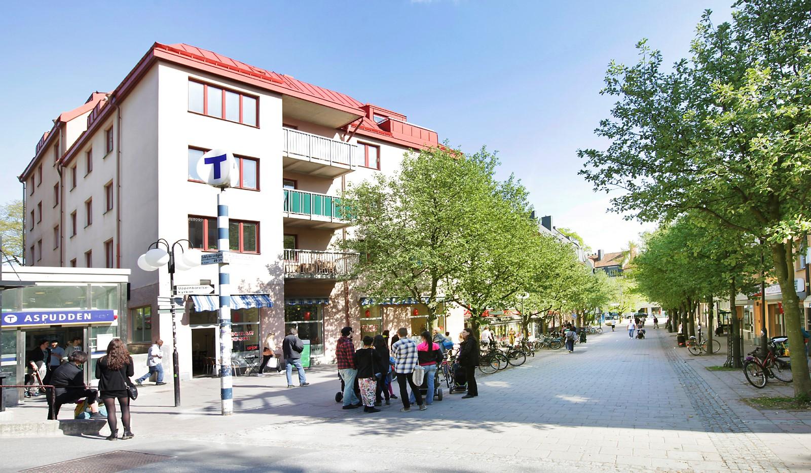 Hägerstensvägen 99B - Aspudden Centrum