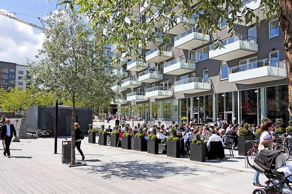 Sjöviksvägen 39, 5tr - Primo är en av flera bra restauranger på kajen