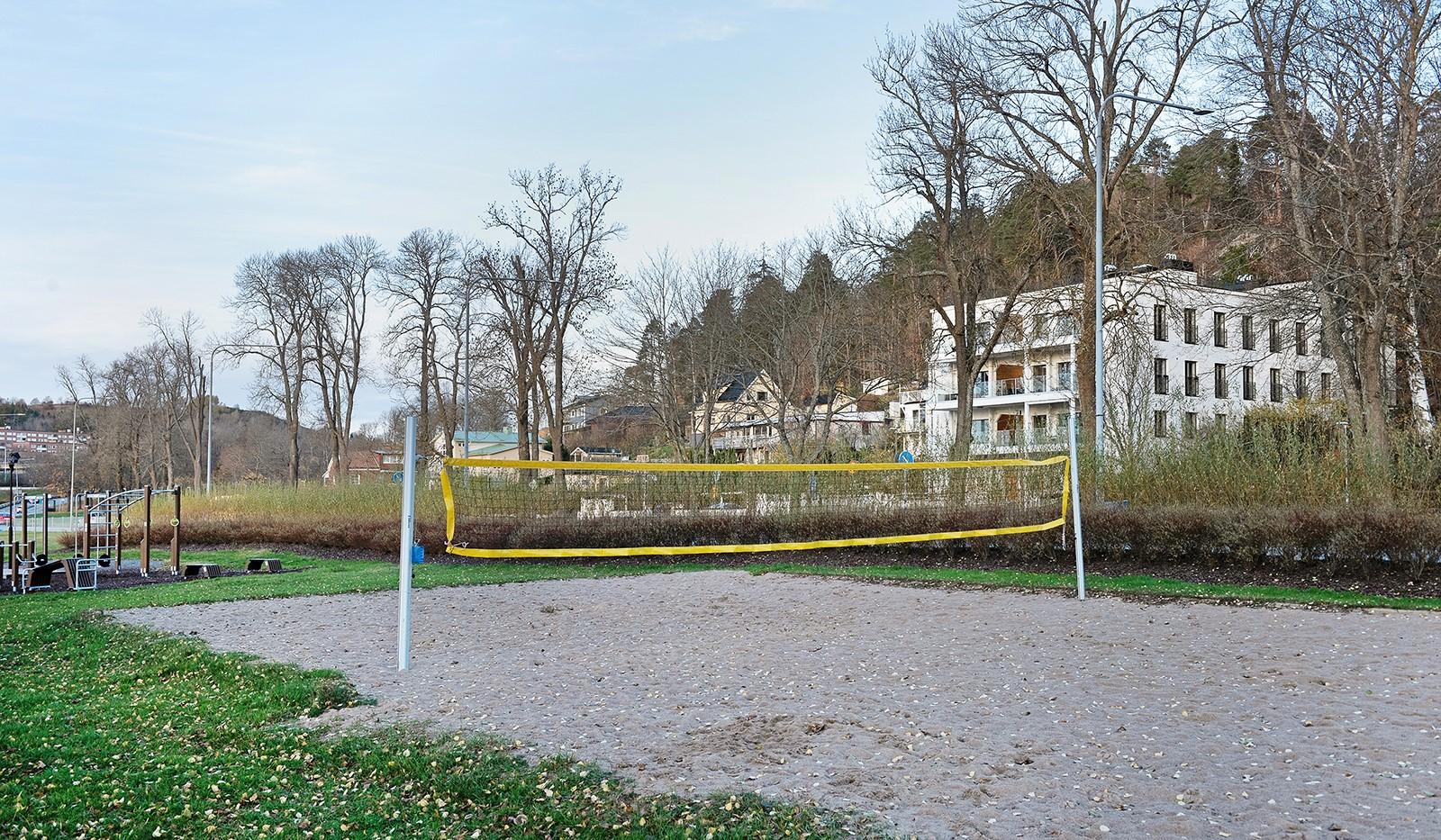 Vårby allé 31, 1tr - Badstrand som erbjuder volleybollplan