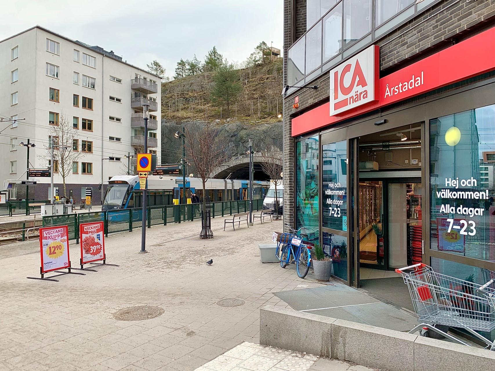Sjöviksvägen 37, 5tr - Årstadal och Ica