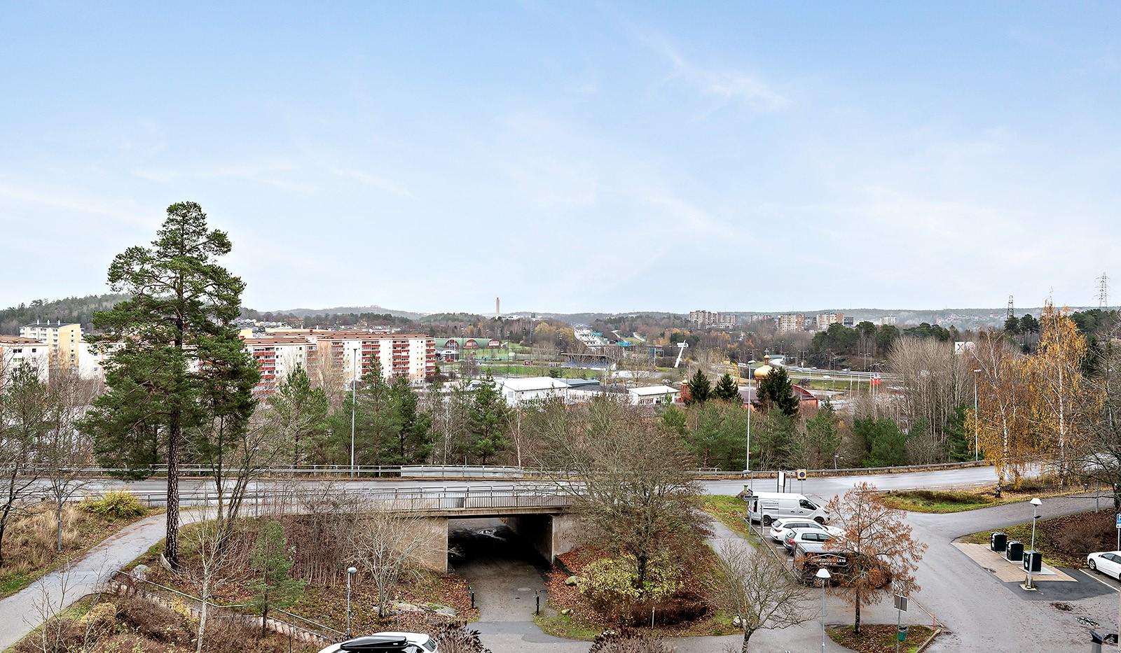Skarpbrunnavägen 11, 4tr - Utsikt från balkongen