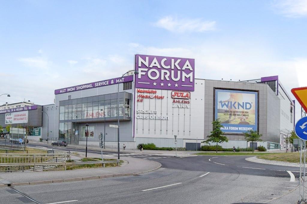 Mjölnarvägen 22, 6tr - Nära Nacka Forum köpcentrum