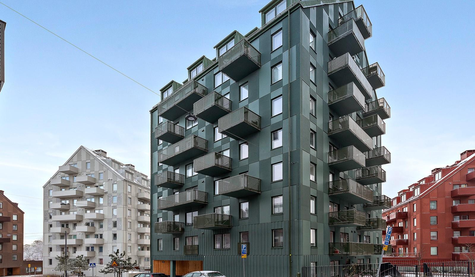Lagmansbacken 3 - Fasad