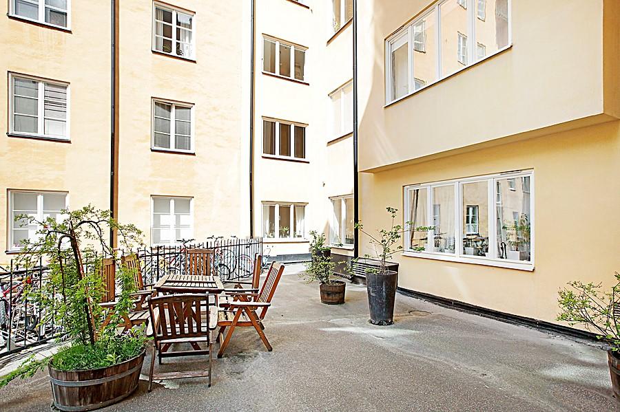 Östgötagatan 32, 4tr - innergård