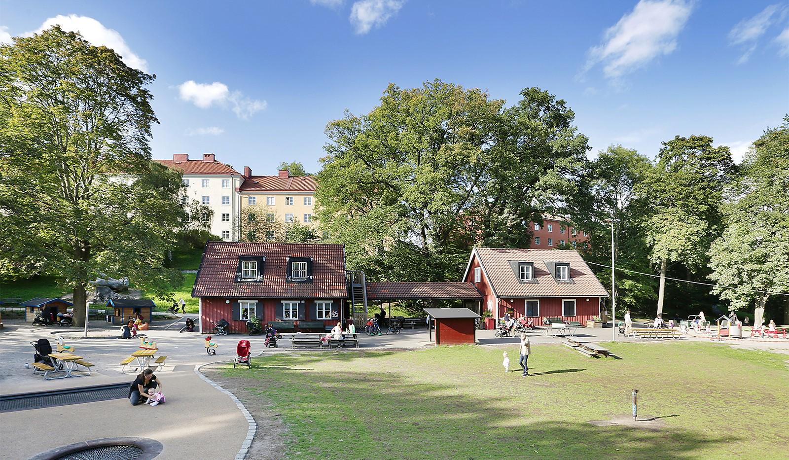 Götgatan 101 - Områdesbild - Stora Bleckan