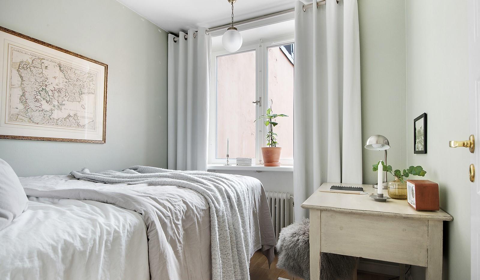 Östgötagatan 32, 4tr - Sovrum, även här fönster mot innergård, utan insyn