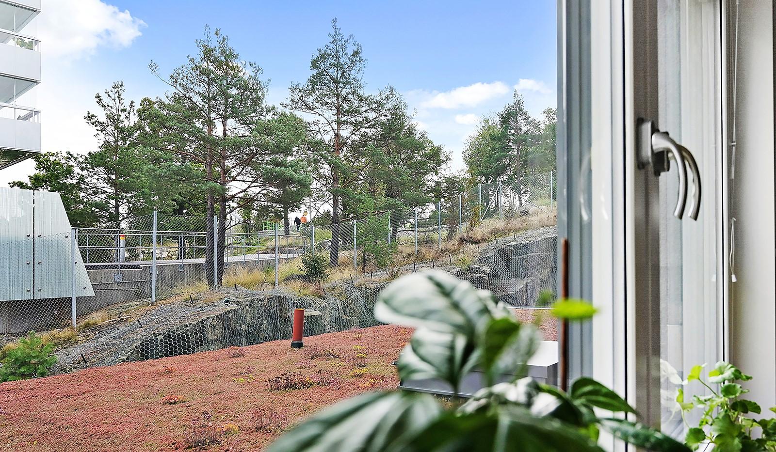 Sjöviksvägen 128, 7 tr. - Sovrummet ligger i insynsskyddat läge