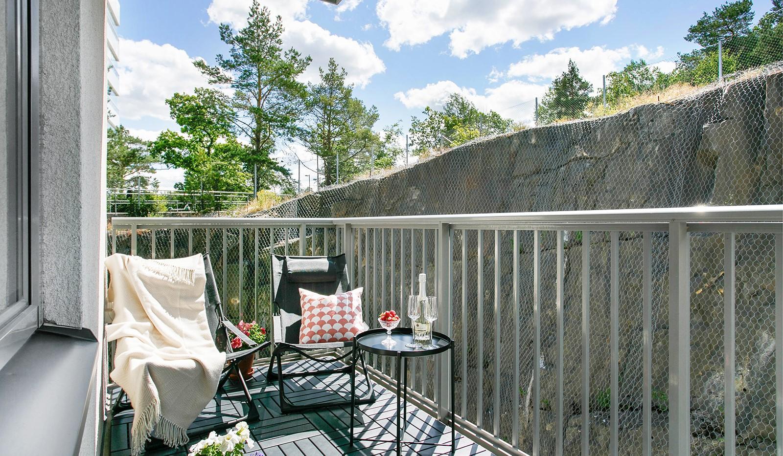 Sjöviksvägen 128, 7 tr. - Stor balkong i söderläge
