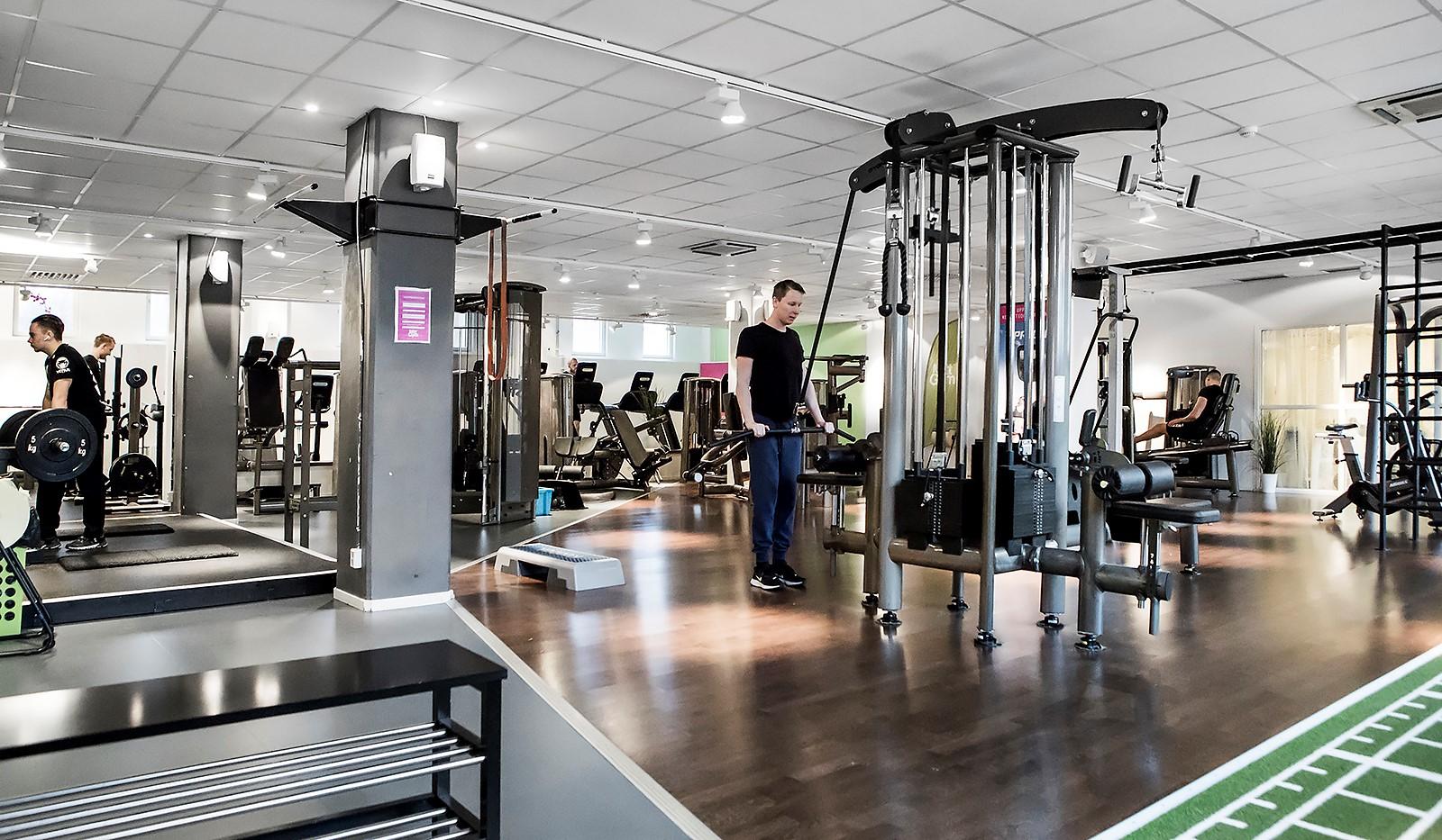 Tellusborgsvägen 90, 2 tr - Externt gym i huset