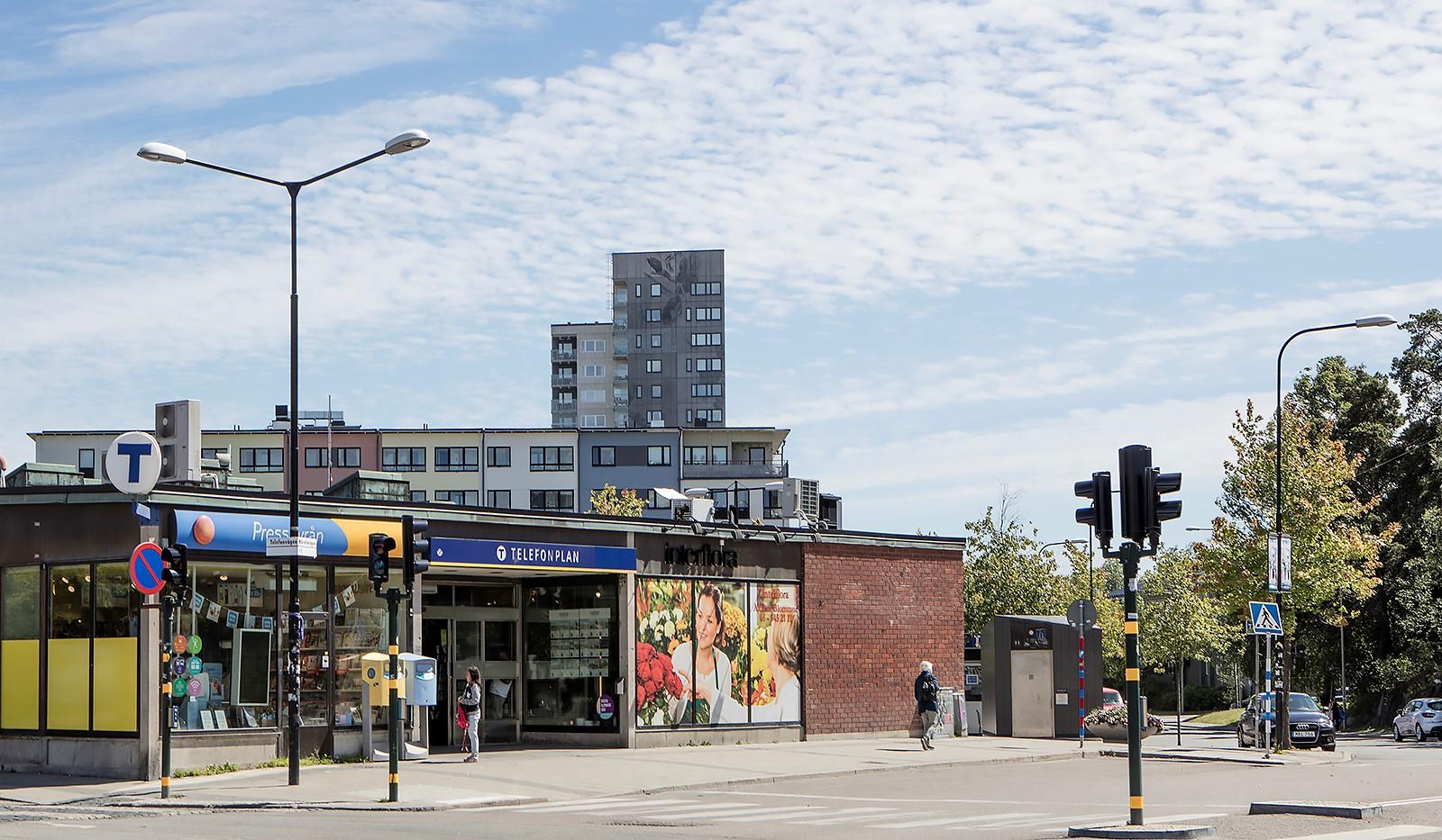 Tellusborgsvägen 90, 2 tr - Bra kommunikationer nära T-bana och buss