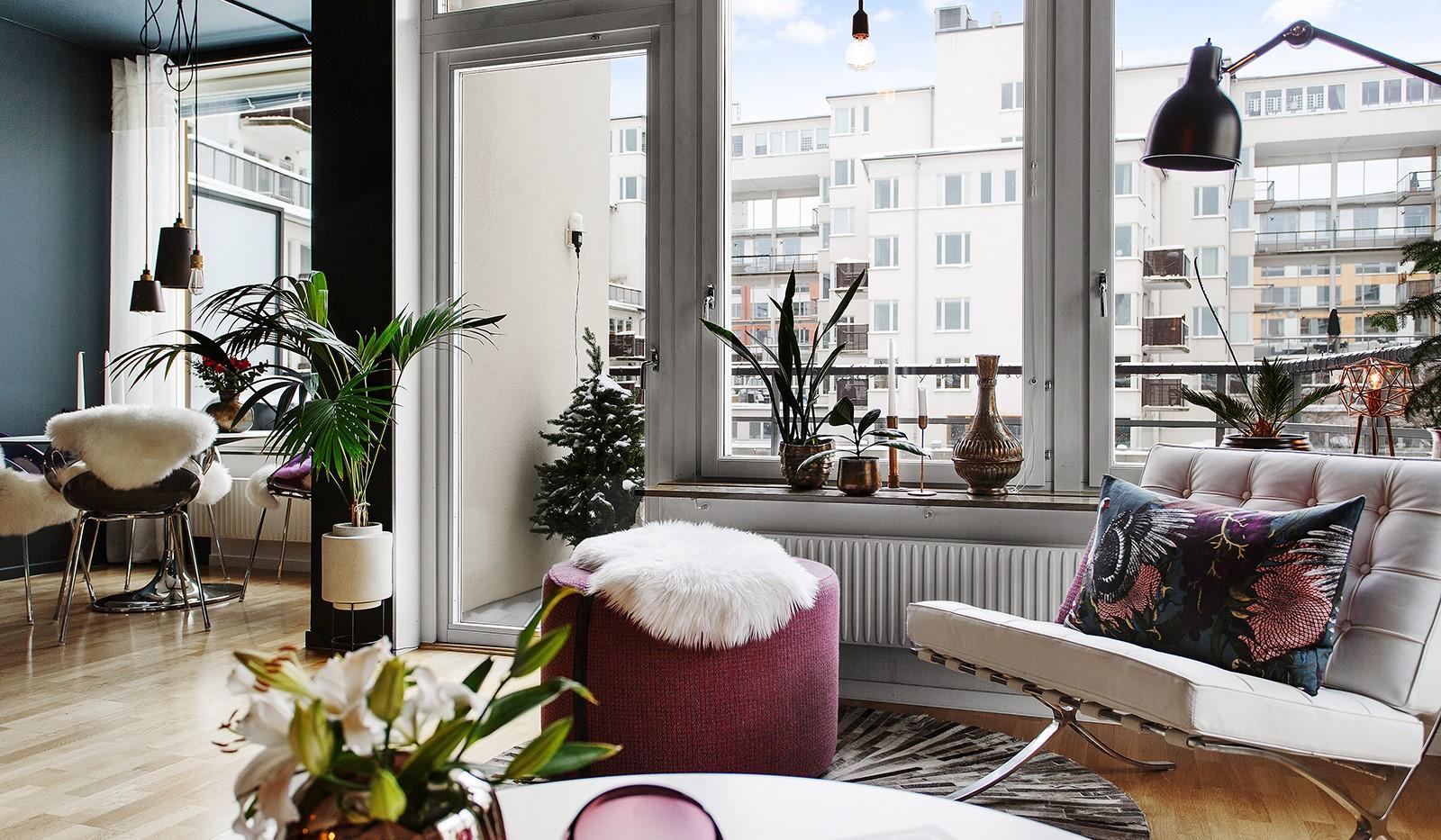 Korphoppsgatan 25, 2 tr Gårdshus! - Alla bostadens fönster vetter mot den lugna gården