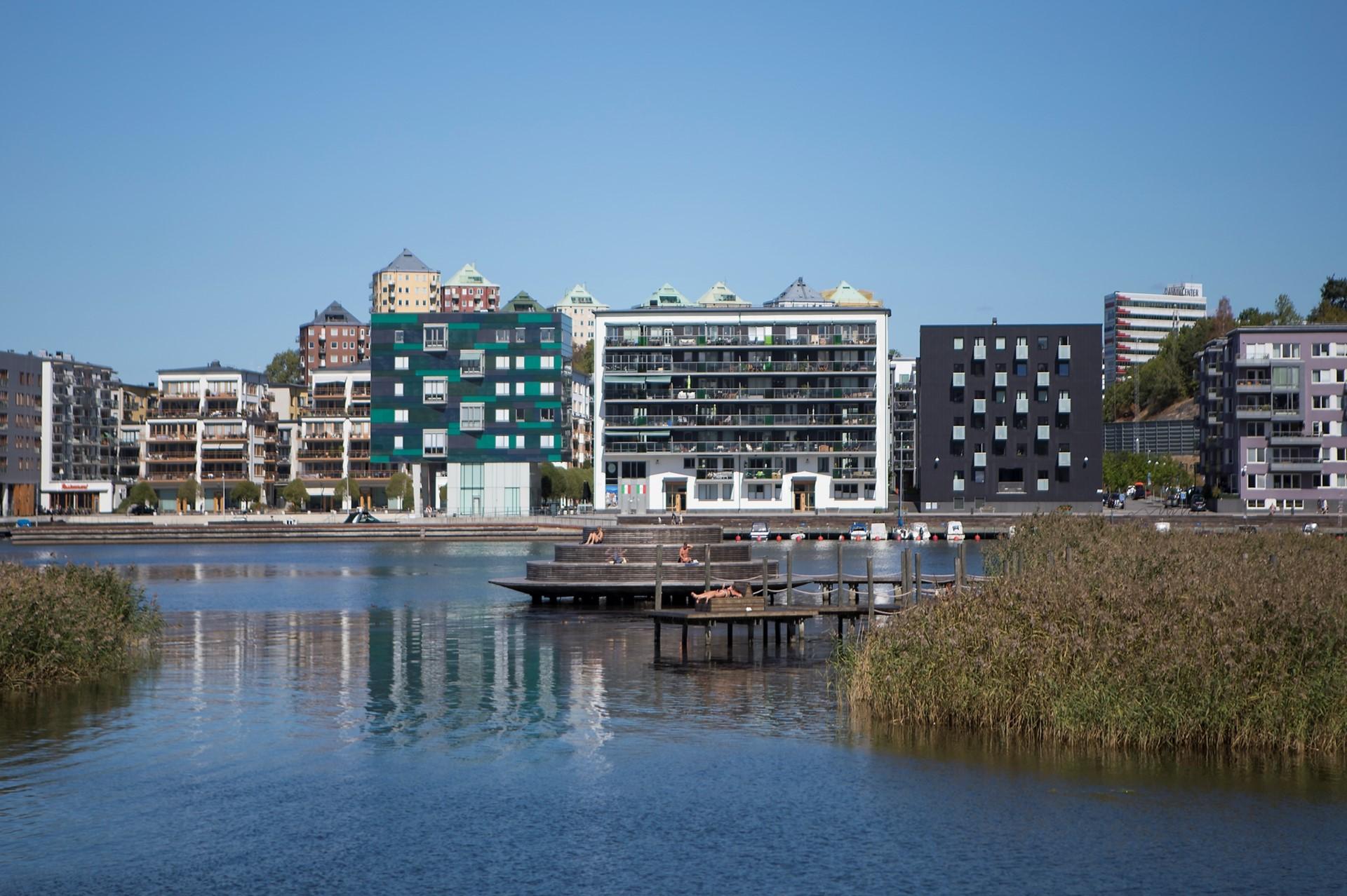 Korphoppsgatan 25, 2 tr Gårdshus! - Hammarby Sjö och populära