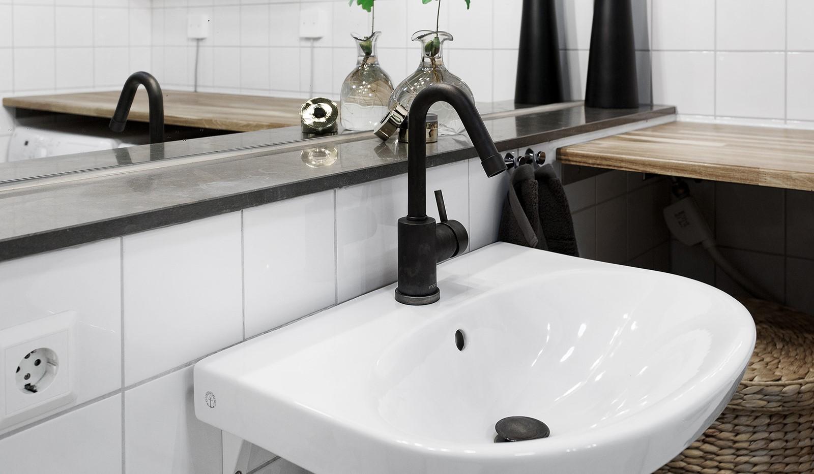 Korphoppsgatan 25, 2 tr Gårdshus! - Badrummet är uppdaterat med snygga materialval