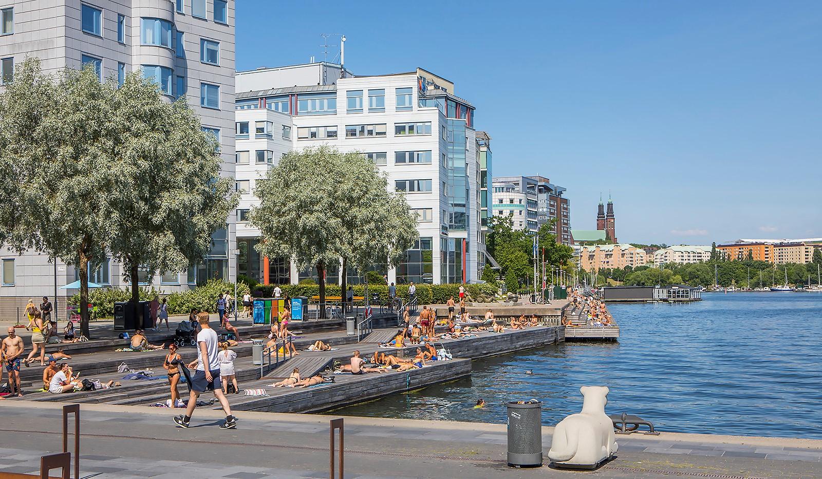 Grönbrinksgatan 6, 4tr - Liljeholmskajen