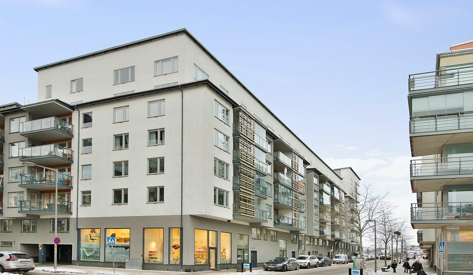 Grönbrinksgatan 6, 4tr - Fasadbild
