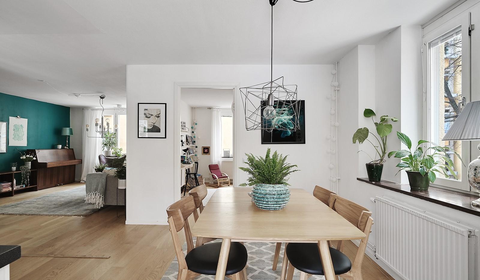 Ringvägen 41B, 2 tr - Trivsamt samspel mellan kök och vardagsrum