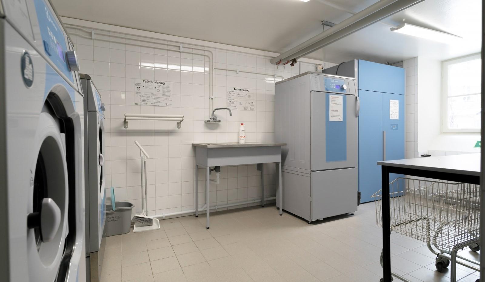 Folkskolegatan 20 - Föreningens tvättstuga renoverad 2019