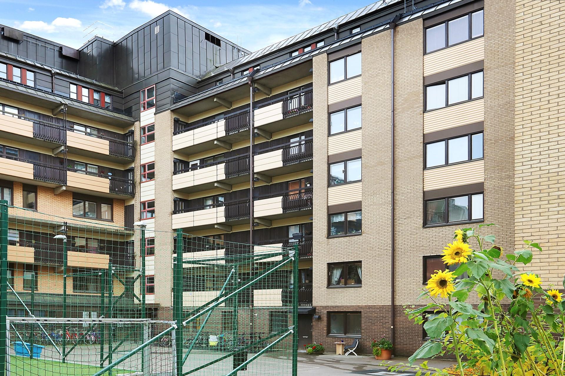 Götgatan 106, 3tr - Innergården