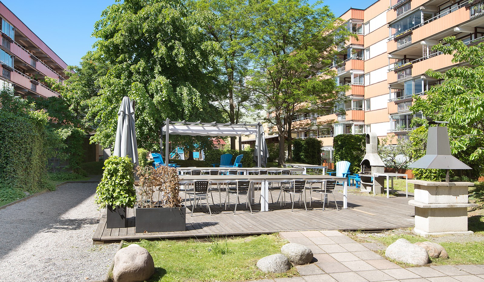 Folkungagatan 58 - Grillar och utemöbler