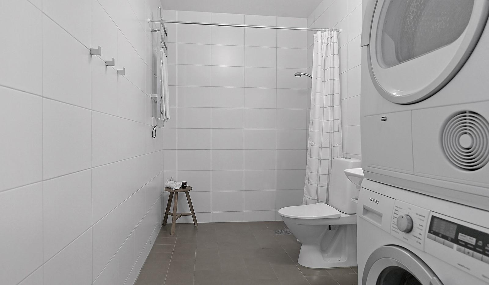Buteljgatan 24, 5 tr - Stilrent och rymligt badrum