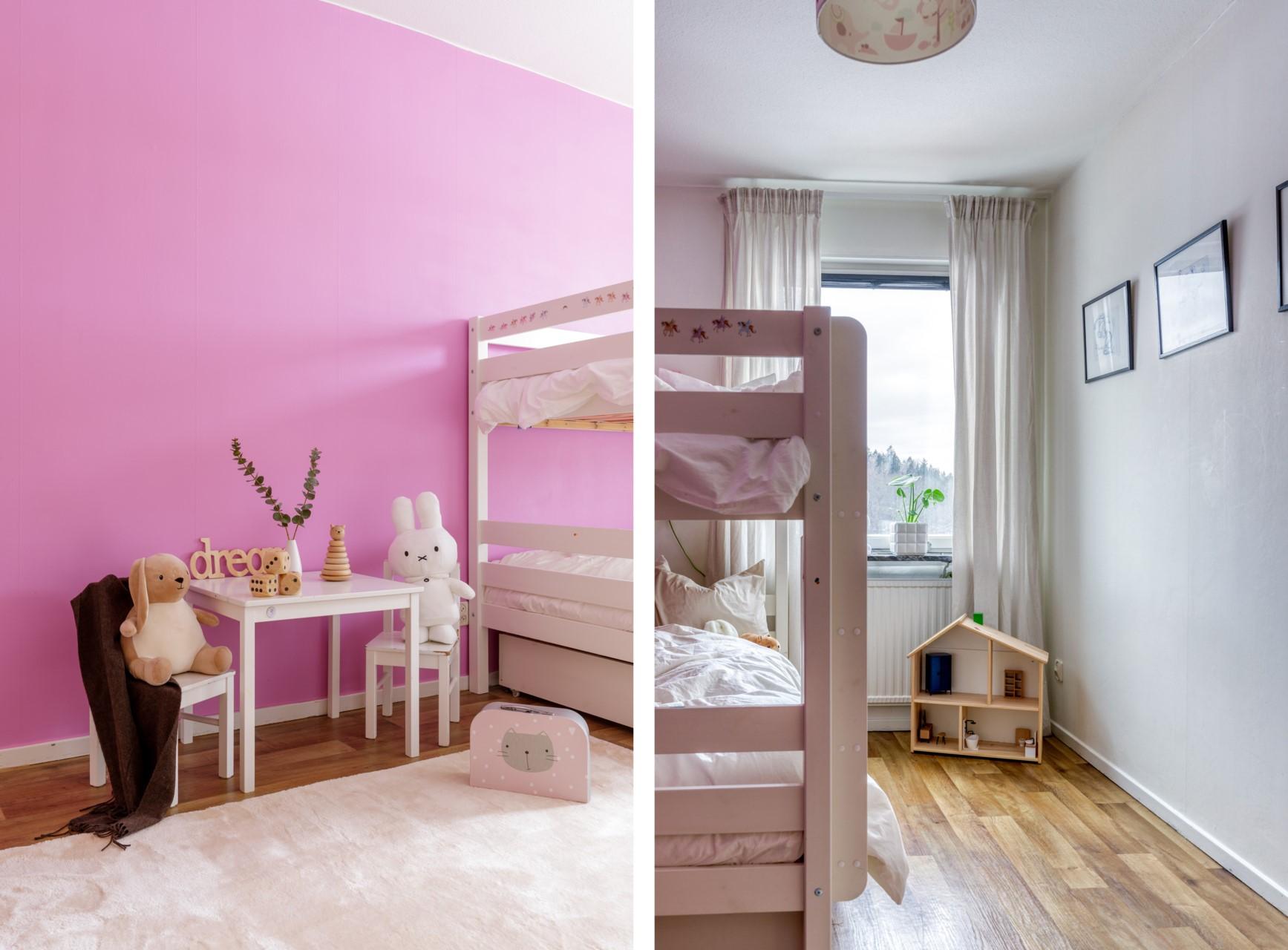 Tumba Torg 107, vån 5 - Underbart barnrum med förvaring i klädkammare