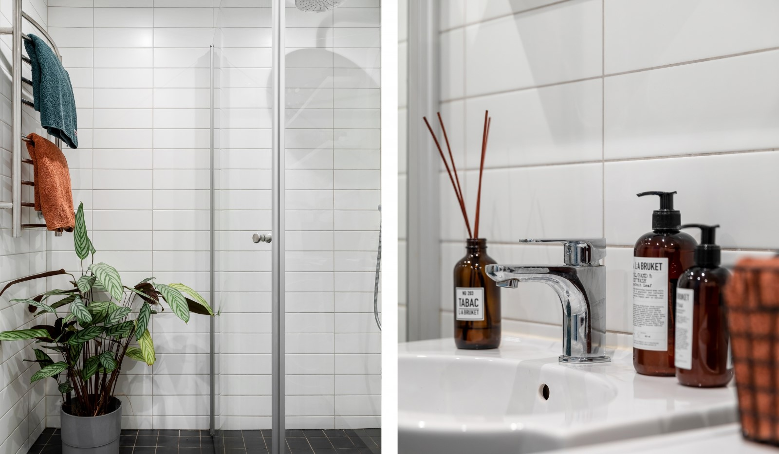 Kocksgatan 42 - Fräscht badrum detalj