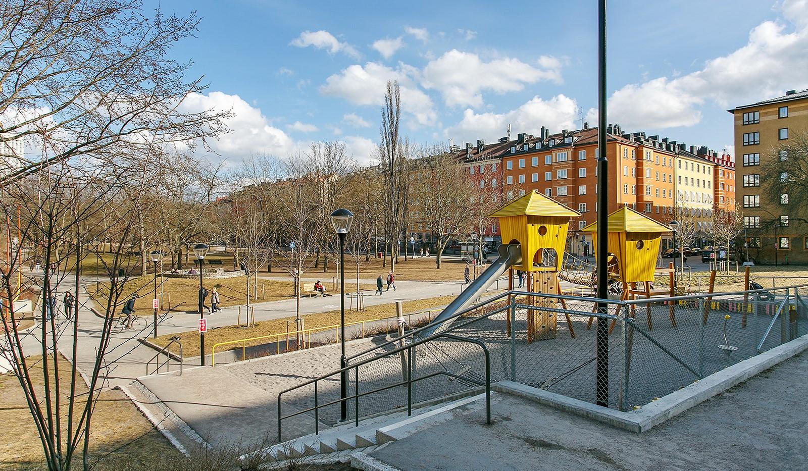 Tideliusgatan 61, 4 tr - Rosenlundsparken ligger nära