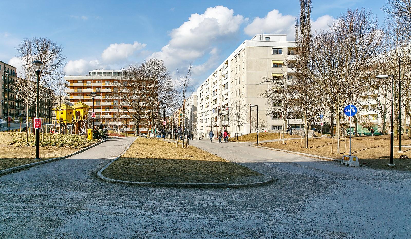 Tideliusgatan 61, 4 tr - Promenad/cykelväg mot Swedenborgsgatan