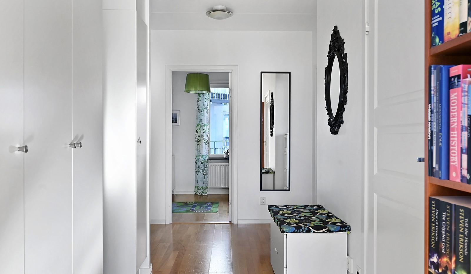 Blekegatan 1, 6 tr - Välkommen till en bostad med genomgående och genomtänkt planlösning