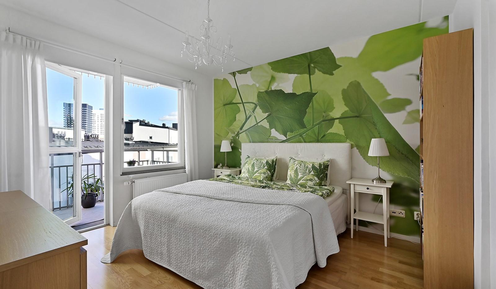 Blekegatan 1, 6 tr - Ljust och rymligt sovrum
