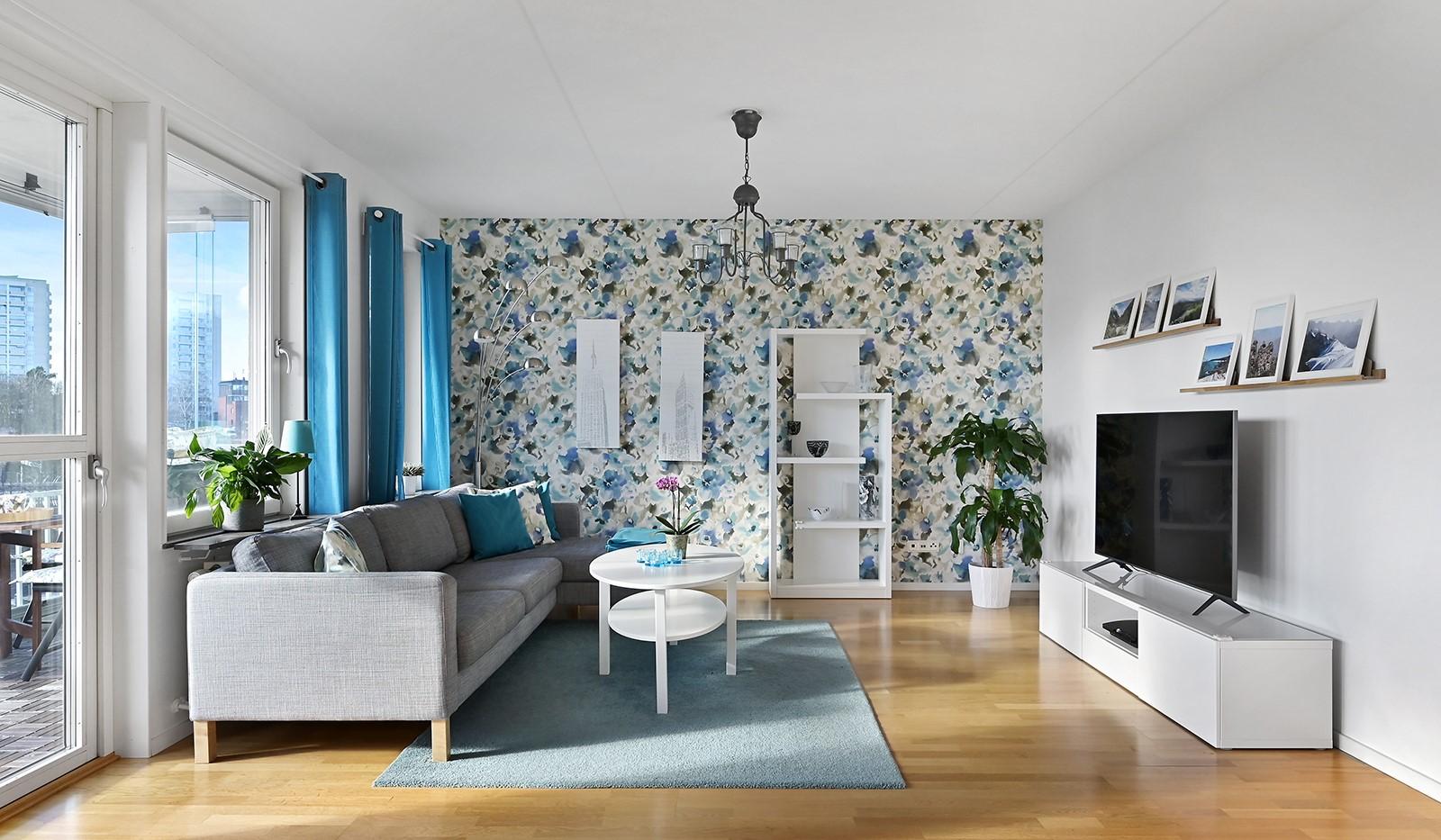 Blekegatan 1, 6 tr - Här ryms en ordentlig soffa med tillhörande möblemang