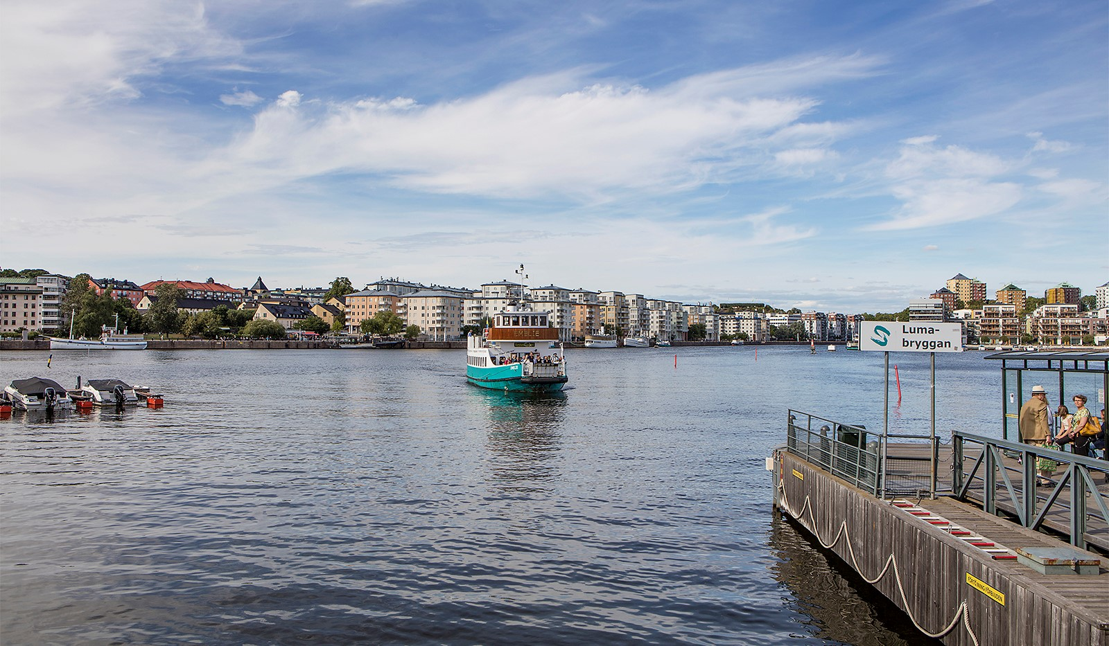 Heliosgatan 58 - Ta båten till stan!
