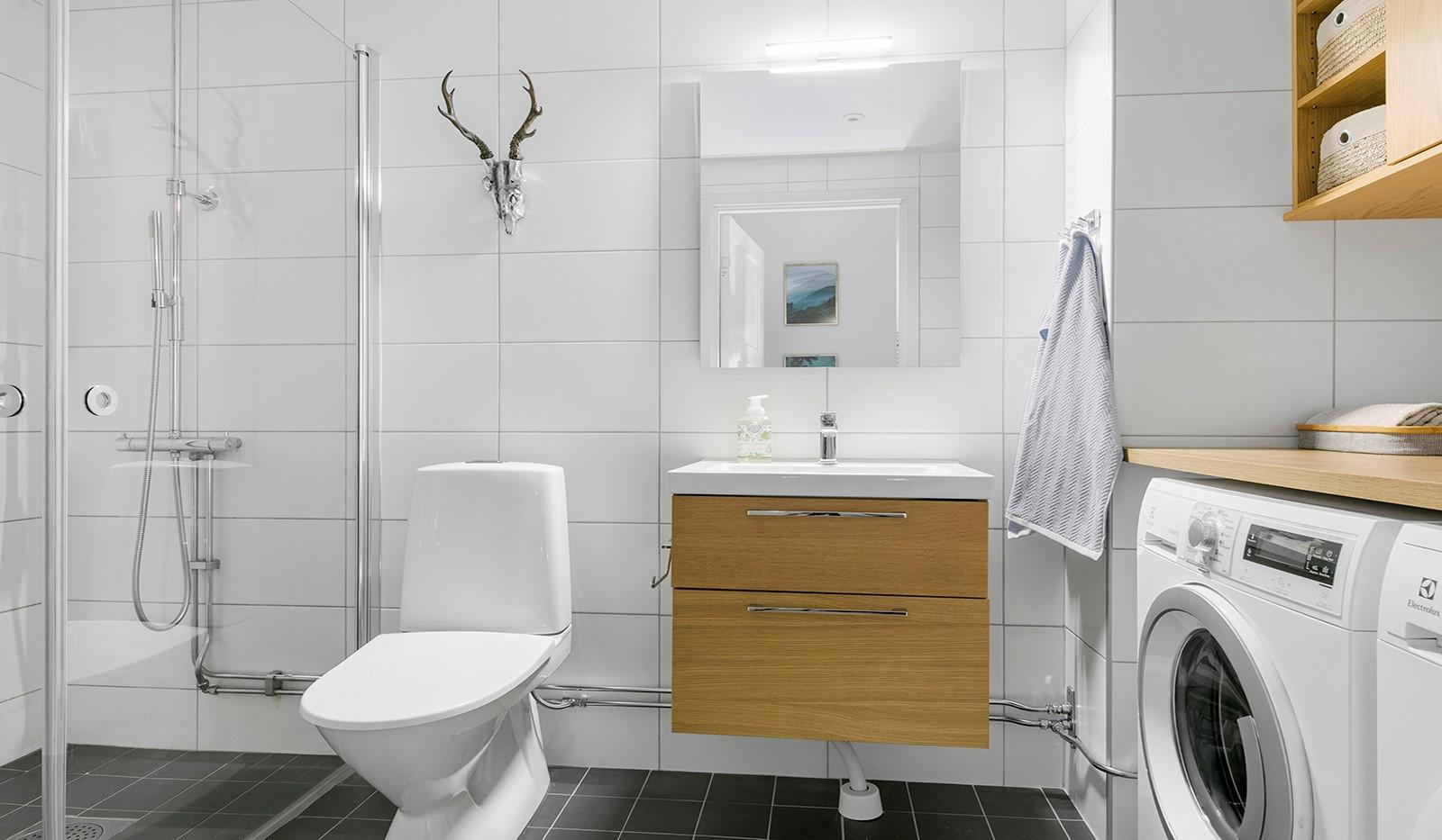Sjöviksbacken 55, 4 tr - Stilrent inrett badrum
