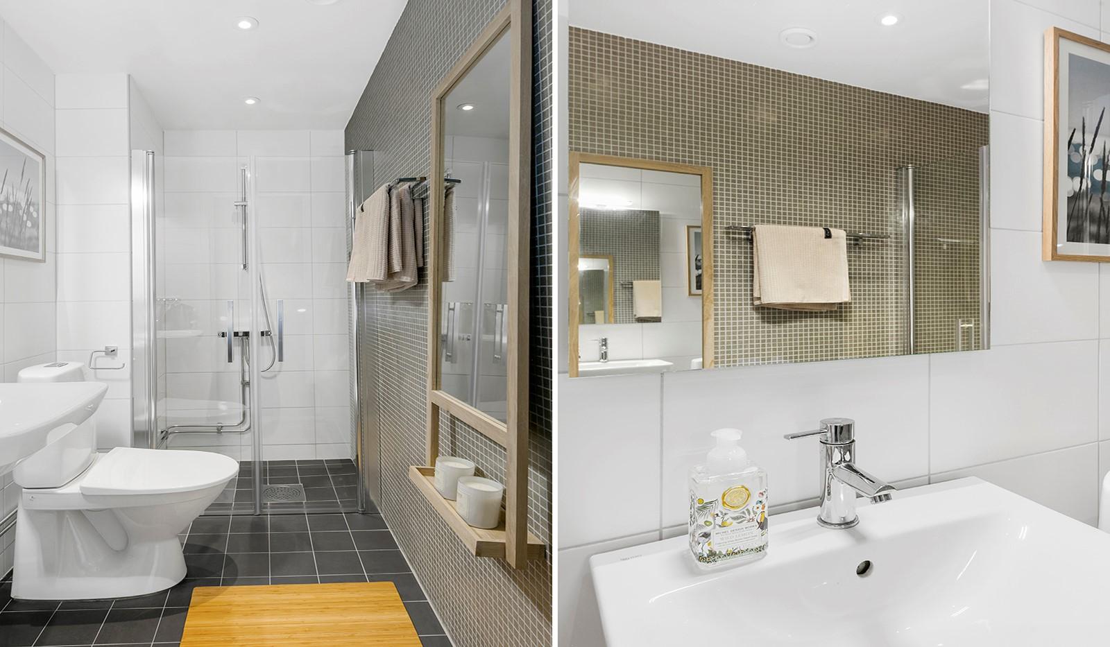 Sjöviksbacken 55, 4 tr - Ett extra badrum underlättar i vardagen