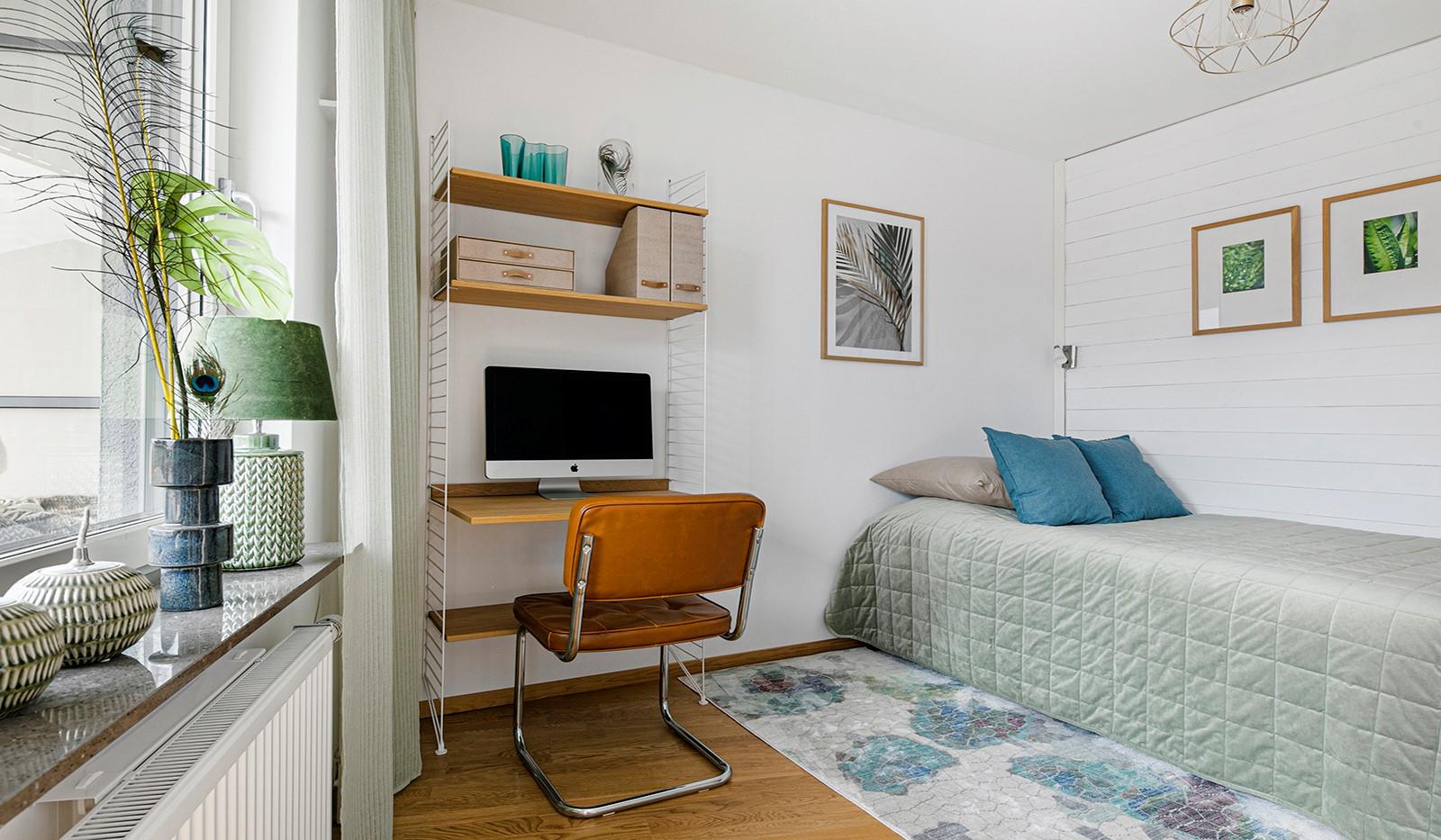 Sjöviksbacken 55, 4 tr - Rofullt sovrum med plats för säng och skrivbord