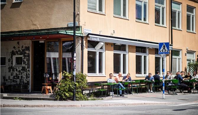 LM Ericssons väg 15, 1 tr - Restaurang Landet