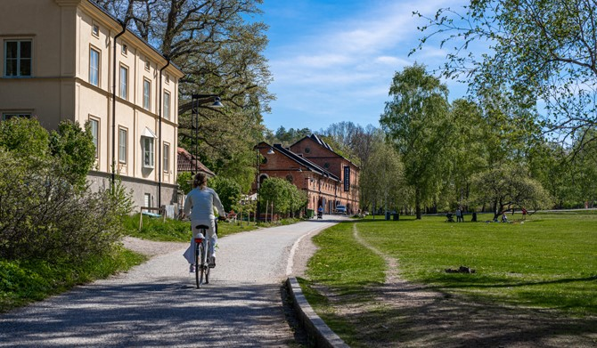 LM Ericssons väg 15, 1 tr - Cykelvänligt i Vinterviken