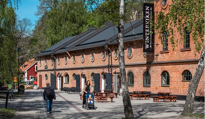 LM Ericssons väg 15, 1 tr - Servering och festvåning