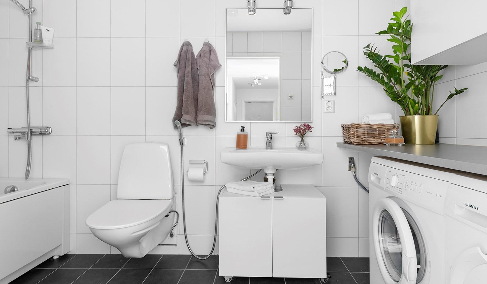 Marieviksgatan 44, 2 tr - Stilrent och modernt badrum