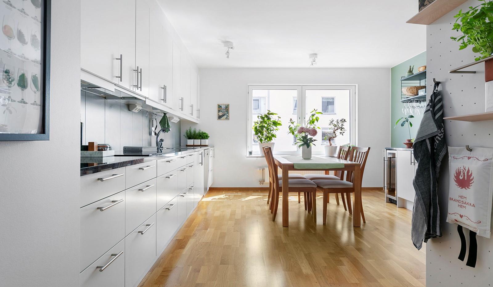 Marieviksgatan 44, 2 tr - Stilrent och rymligt kök