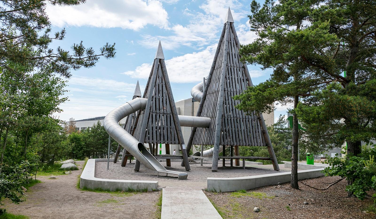 Sjöviksbacken 55, 4 tr - Populär lekplats